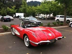 Car 1958 Chevrolet Corvette