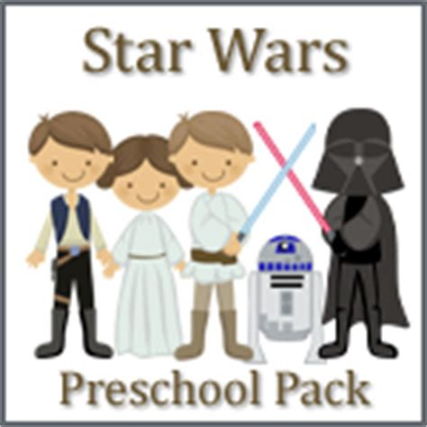 cookie nut creations creative learning activities 347 | Star Wars Preschool Pack copy