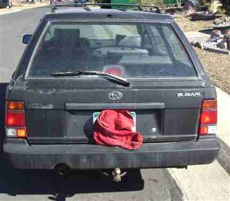1992 subaru loyale engine find used 1992 subaru loyale base wagon 4 door 1 8l in