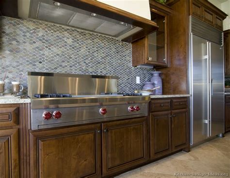 Ideas For Kitchen by Pictures Of Kitchens Traditional Wood Kitchens