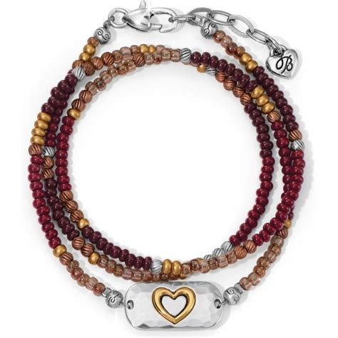 seeds 4 the soul heart wrap bracelet bracelets