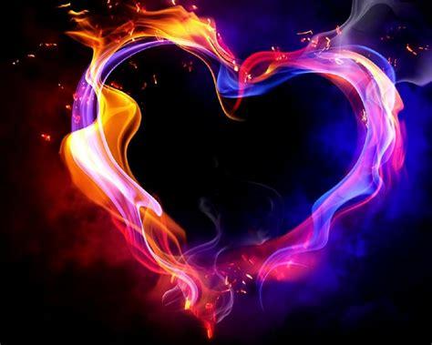 corazones de colores  fondos de pantalla