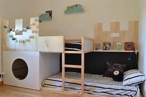 Chambre Ikea Enfant : 5 d tournements de meubles ikea pour chambre d 39 enfant ~ Teatrodelosmanantiales.com Idées de Décoration