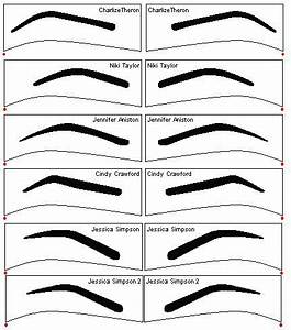 eyebrow templates printable - 17 best images about p r i n t a b l e s on pinterest