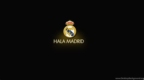 Real Madrid Wallpapers Black Desktop Background