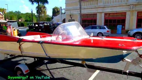 Stingray Boats Speed by 1960 Stingray Boat Youtube