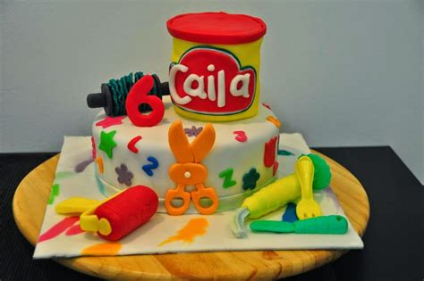 play doh cake glimpses of pam a play doh themed birthday 6639