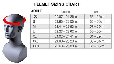 how to size motocross image gallery helmet sizing