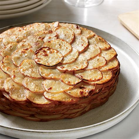 potato dishes recipes healthy potato gratin with herbs recipe garrett weber gale food wine