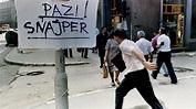 Sarajevo: Inside 'sniper alley' - BBC News