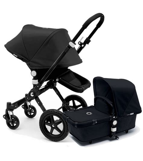 Bugaboo 2015 Cameleon 3 Stroller  All Black