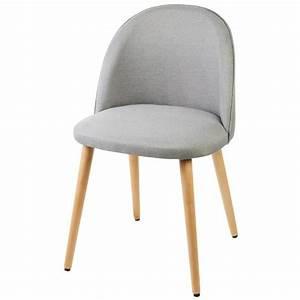 Chaise En Tissu Gris : chaises achat vente chaises pas cher cdiscount ~ Teatrodelosmanantiales.com Idées de Décoration