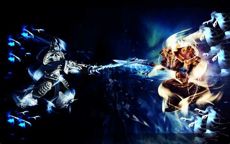 Paladin Deck Vs Lich King by Lich King Vs Paladin Wallpaper By Aryiana Dzyn On Deviantart