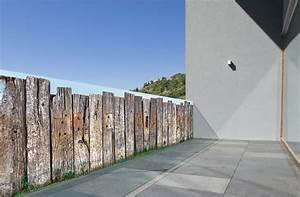 Brise Vue Bois Balcon : brise vue trompe l il barri re en bois par scenolia ~ Edinachiropracticcenter.com Idées de Décoration