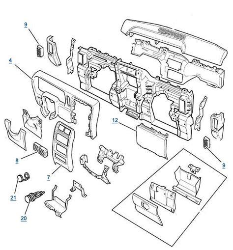 jeep xj dash parts dashboard parts for sale