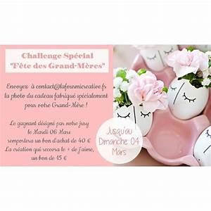 Cadeau Fete Des Grands Meres : challenge n 106 votre cadeau diy pour la f te des grand m res ~ Preciouscoupons.com Idées de Décoration