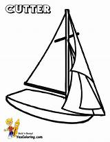 Coloring Sailing Pages Ship Boat Printable Cutter Boats Yacht Ships Boys Yescoloring Superb Printout Yachts sketch template