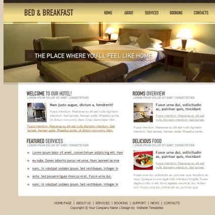 bed breakfast template  website templates  css