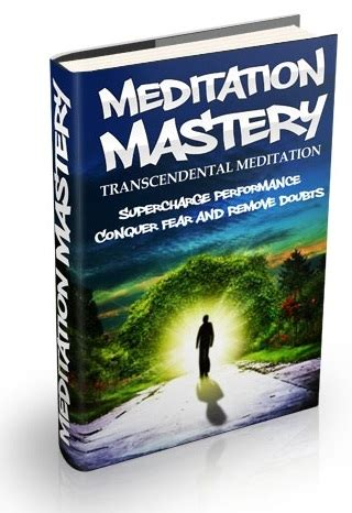 Meditation Mastery, Vol 1 Transcendental Meditation $2