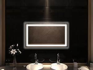Badspiegel Rund Mit Beleuchtung : badspiegel mit led beleuchtung nessa ~ Indierocktalk.com Haus und Dekorationen