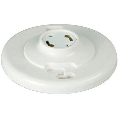 Plastic Keyless L Holder by Eaton 660 Watt 250 Volt Keyless Ceiling L Holder Gu24w