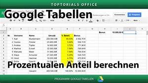 Laufstrecke Berechnen Google Maps : prozentualen anteil berechnen google tabellen toptorials ~ Themetempest.com Abrechnung
