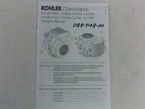 Bad Boy Mower Part 30 Kohler Command Motor Manual