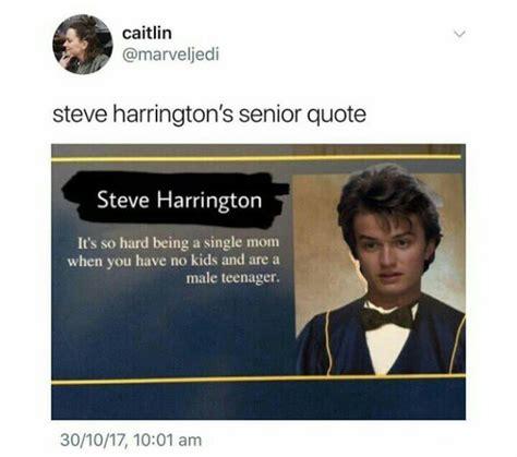 Steve Harrington Memes - 11 memes only stranger things fans will appreciate we the pvblic