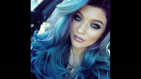 How To Make Permanent Blue Hair Dye At Home Easily Youtube