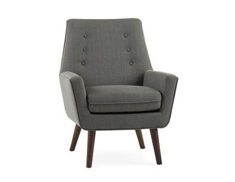 Gem Dark Grey Fabric Armchair
