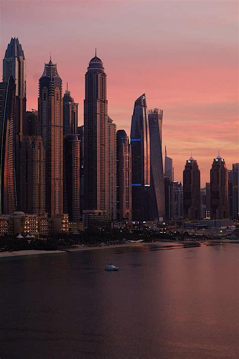 A Dubai sunset : CityPorn