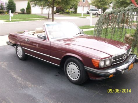old car owners manuals 1988 mercedes benz s class transmission control 1988 mercedes benz 560 sl convertible all original nearly all service records for sale