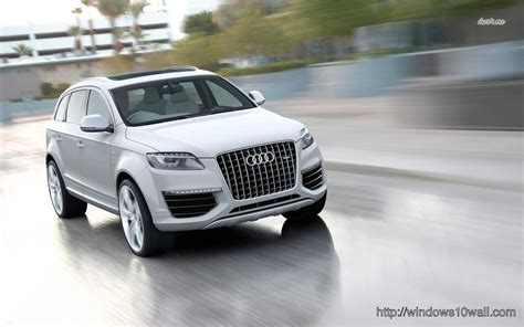 Audi Q7 Backgrounds by Audi Q7 V12 Tdi Background Wallpaper Windows 10 Wallpapers