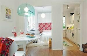Kleine Wohnung Ideen : 140 bilder einzimmerwohnung einrichten ~ Markanthonyermac.com Haus und Dekorationen