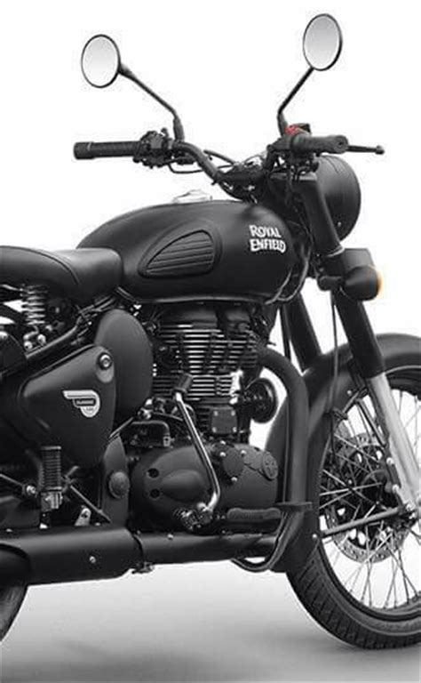royal enfield classic  stealth black pics gallery