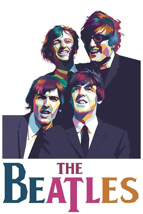The Beatles Fan Art Poster – My Hot Posters