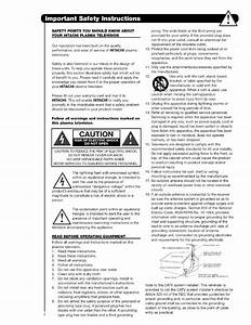 Hitachi 42hds52 User Manual Tv Plasma Manuals And Guides