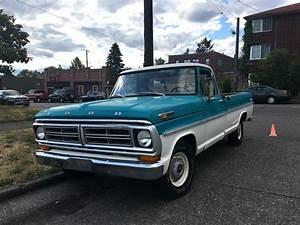 Seattle U0026 39 S Classics  1972 Ford F100
