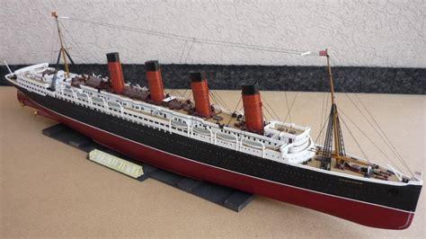 Rms Lusitania Wreck Model by Gunze Rms Lusitania 1 350