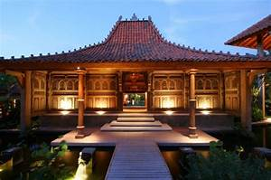 Traditional Villa House With Joglo Style Located In