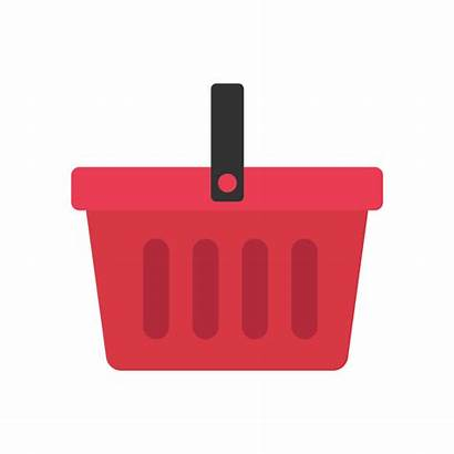 Basket Shopping Vector Svg Icon Flat Commons