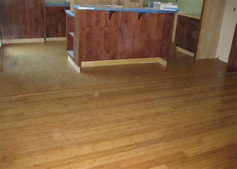 cork flooring in areas bamboo floating floor installation gurus floor