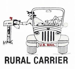 b jeep rural carrierjpg 396x365 everything usps With rural letter carrier signs