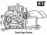 Coloring Caterpillar Colouring Tractor Construction Budowy Track Skid Steer Spychacz Placu Machine Truck Loader Kolorowanka Printables Druku Birthday Pokoloruj Gcssi sketch template
