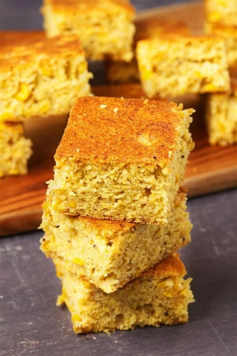 I'm pretty certain she once made herself a bowl of the batter to eat as a snack, with no. Perfectly sweet vegan cornbread with whole corn kernels ...