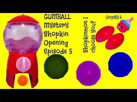 Gumball Machine Shopkins Season 5 Mystery packs Opening