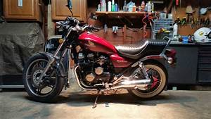 1983 Honda Nighthawk 550  Candy Presto Red  Unicorn