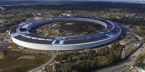 nouveau si鑒e social apple cus 2 le futuriste nouveau siège social d 39 apple survolé par un drone