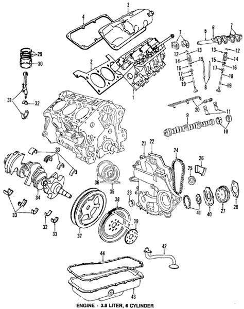 2000 Chrysler 3 8 Engine Diagram parts 174 chrysler cover engine pum partnumber