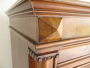 Möbel Mit Geheimfach : gro er sekret r um 1850 ionische drechsels ulen wurzelholzfurnier intrasienarbeiten an ~ Eleganceandgraceweddings.com Haus und Dekorationen